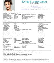 Actors Resume Template Professional Acting Resume Template 66