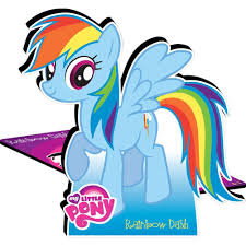 my little pony rainbow dash desktop standee
