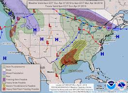 Weather Us Model Charts Lake Huron Weather Nws Us 3 Day Front Forecast Charts