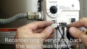 Honeywell Heater Pilot Light Water Heater Thermocouple Honeywell Replace