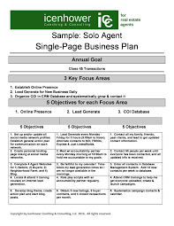 Sample Small Business Plans How To Write A Business Model Template Best Sample Small Business ...