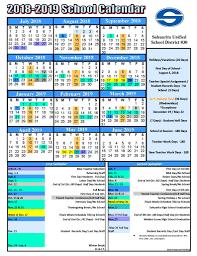 Sample School Calendar Sahuarita Unified School District Proposed 2424 School Calendar 11