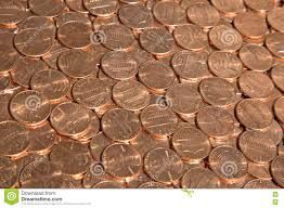Us Coins Stock Photo Image Of Fortune Chart Debt Bank