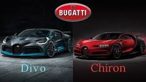 The bugatti divo price is set at €5 million, which equates to roughly $5.8 million usd. Bugatti Divo Vs Bugatti Chiron Youtube