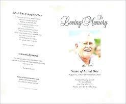 Free Funeral Templates Memorial Brochure Template Free Funeral