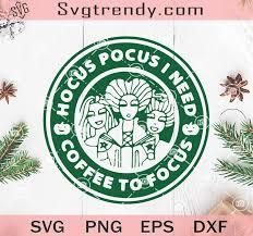 Hocus pocus halloween party poster with handwritten ink lettering. Hocus Pocus Coffee Svg Hocus Pocus I Need Coffee To Focus Svg Witches Svg Sanderson Sisters Svg Original Svg Cut File Designs