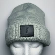 leather patch beanie limited edition mobile gallery