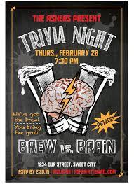 Trivia Night Flyer On Behance