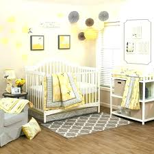 yellow crib bedding sets yellow crib bedding sets fl yellow and gray infant baby girls nursery yellow crib bedding sets