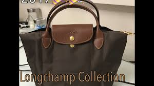 Longchamp Collection 2017 Size Comparison