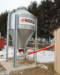 1000 ideas about grain auger grain silo silo a grain bin and auger could improve your feeding routine a grain bin and flex