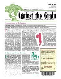 Against The Grain V31 4 September 2019 By Against The