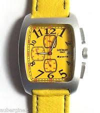 locman 487 wrist watch for men authentic locman sport chronograph watch model 487 yellow new boxed msrp 495