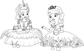 Sofia The First Mermaid Coloring Pages The First Coloring Page The