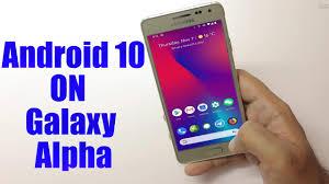 Samsung Galaxy Alpha (LineageOS 17.1 ...