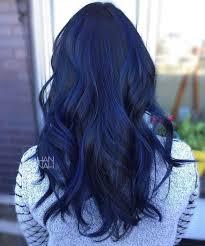 Colorful Hairstyles 31 Inspiration Blue Sapphire Balayage FancyFollicles Hair Pinterest