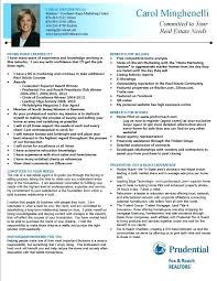 Commercial Real Estate Appraiser Sample Resume Extraordinary Example Of Realtor Resume Combined With Resume Example Real Estate