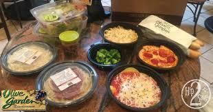 score 4 olive garden entrees 2 soups salads 4 breadsticks kids meal for under 30