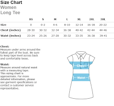 American Apparel Measurement Chart Awoh Short Sleeve Long Tee Ann Wilson Of Heart