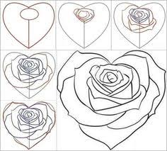 Small Picture Wonderful Idea For Drawing A Beautiful Rose Rose Tutorials and