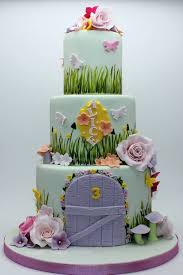 fairy garden themed cake inspired by bella cupcakes