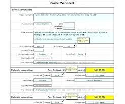 Simple Job Estimate Simple Job Estimate Template It Project