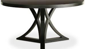 dark lacquer room only black top glass table chairs legs marble pedestal white wooden wood and