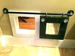 homemade cat door thru diy interior cat door