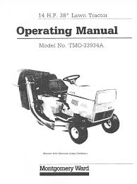 montgomery ward lawn mower tmo 33934a user guide manualsonline com Montgomery Ward 15 Tractor Wiring Diagram Montgomery Ward 15 Tractor Wiring Diagram #35 70s Montgomery Wards Garden Tractors