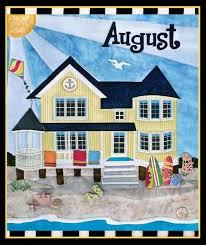 August Holiday House Beach House Quilt Pattern by Zebra Patterns ... & August Holiday House Beach House Quilt Pattern by Zebra Patterns at  KayeWood.com Adamdwight.com