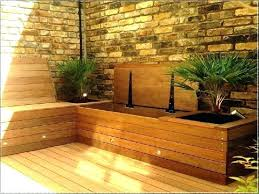 deck bench with back plans deck benches with storage plans deck bench storage outdoor in plans