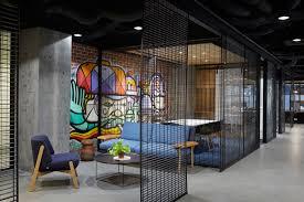 office graffiti wall. Deka Immobilen Office - Local Graffiti Wall Lounge -Techne Architecture + Interior Design V