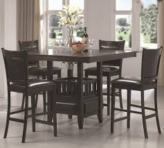 Appealing Glass Dining Table Sets 8 Chairs Round Awesome Small Black