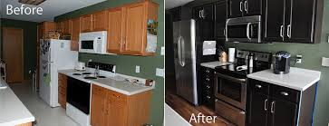 gel stain kitchen cabinets: kitchen before and after gel staining of cabinets gel stain kitchen