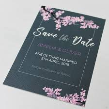 Print Your Own Save The Date Save The Date Cards Wimbledon Business Studio