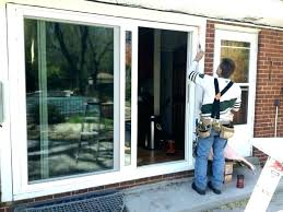 pella sliding door with blinds series sliding door installation instructions pella sliding glass doors with blinds