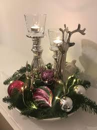 Weihnachtsdeko Mit Hirsch Deko Weihnachten Adventsdeko