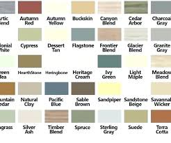 Pacific Polymers Color Chart Certainteed Vinyl Siding Colors Samples Josephdecor Co