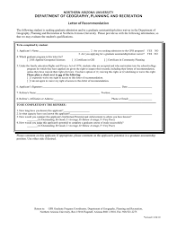 Letter Of Recommendation In Word And Pdf Formats
