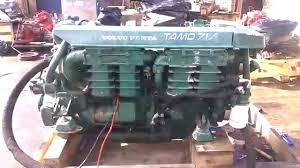 Volvo Penta TAMD71A Marine Diesel Engine - YouTube