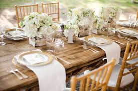 Best Outdoor Wedding Table Settings Outdoor Wedding Receptions Fabulous  Weddings