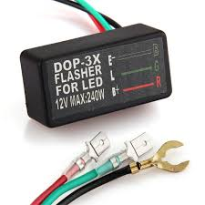 motorcycle universal flasher relay 3 pin 12v for turn signal light 3 Prong Led Flasher Schematic motorcycle universal flasher relay 3 pin 12v for turn signal light circuit Plug in LED Flasher Kit