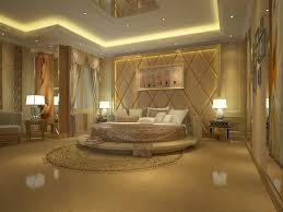 Gold And White Bedroom From Theprereq For A Elegant Bedroom Design ...