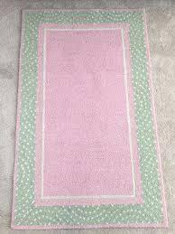 fashionable pink polka dot rug pottery barn kids polka dot border rug green pink brand new fashionable pink polka dot rug