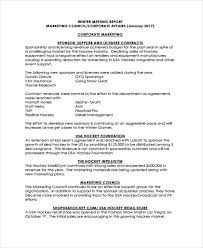 Weekly Marketing Report Template 17 Sample Marketing Report Templates Docs Word Pdf
