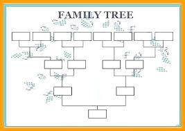 Family Tree Diagram Maker Easy Printable Family Tree Maker 5