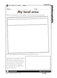 Newspaper Story Template Free Download How To Write A Newspaper Report Template In Format