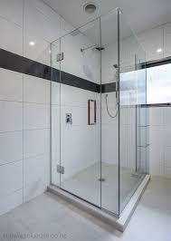 frameless glass shower door corner square shower