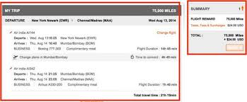 How To Fly Air India Using Miles Million Mile Secrets