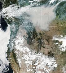 Smoky Skies In North America